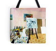 Tribute to Peter - The Art Room Tote Bag