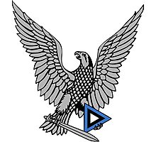 Emblem of the Estonian Air Force  Photographic Print