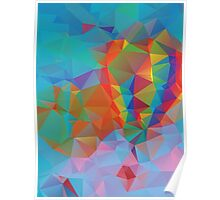 Vibrant Colorful Background 3 Poster