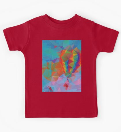 Vibrant Colorful Background 3 Kids Tee