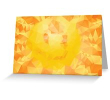 Vibrant Colorful Background 5 Greeting Card