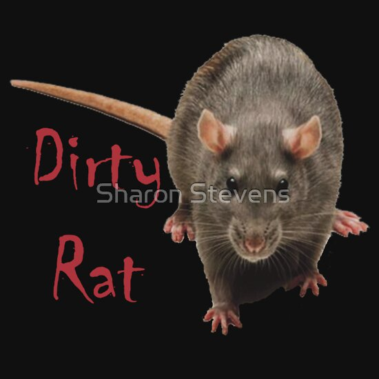 Quot Dirty Rat Quot T Shirts Amp Hoodies By Sharon Stevens Redbubble