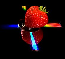 Strawberry Abstract 1 by mausue