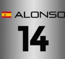 F1 2015 - #14 Alonso [launch version] Sticker