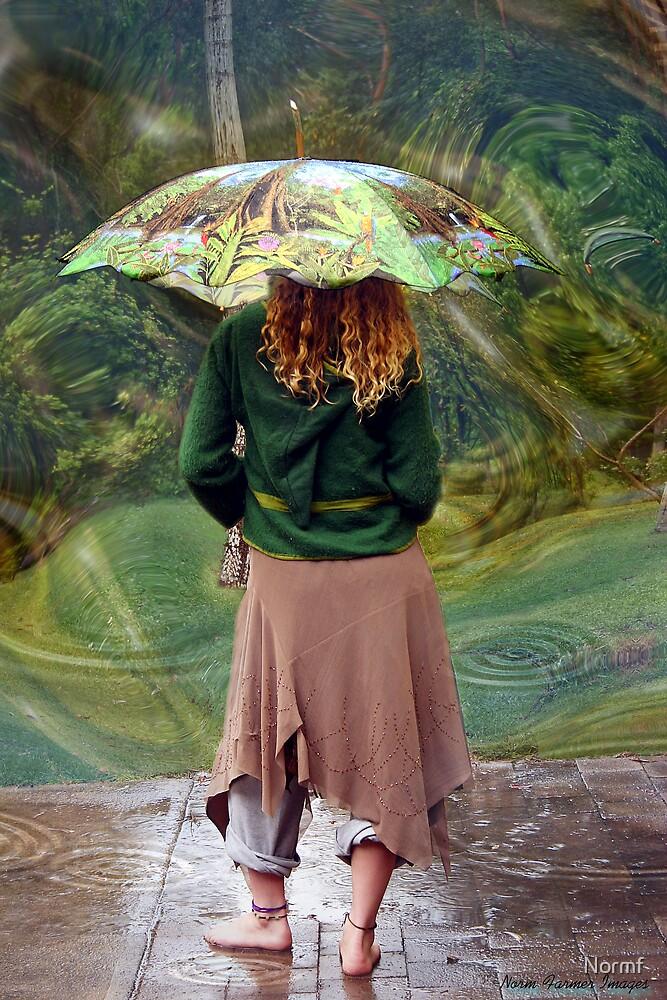Raining by Normf