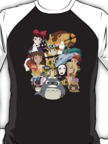 Studio Ghibli Collage T-Shirt