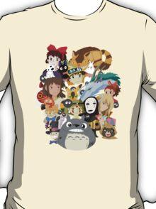 Studio Ghibli Collage T-Shirt