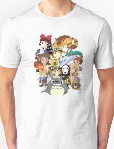 Studio Ghibli Collage Unisex T-Shirt