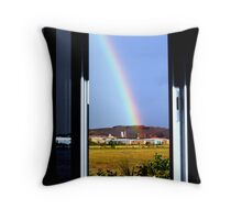 The rainbow Throw Pillow