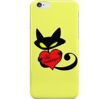 EvilKitty purfect iPhone Case/Skin