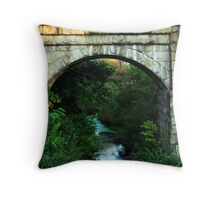 Arched in Stone... Throw Pillow