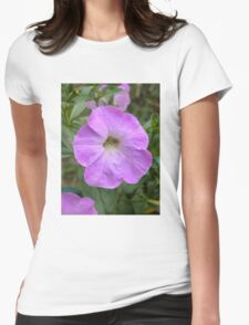 Petunia flower 10 Womens Fitted T-Shirt