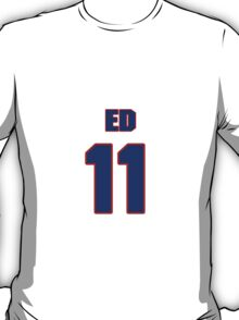 National football player Ed Luther jersey 11 T-Shirt