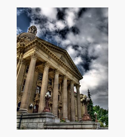 Edmonton Legislature Building Photographic Print