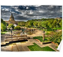 Legislature Grounds in HDR Poster