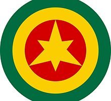 Roundel of the Imperial Ethiopian Air Force  by abbeyz71