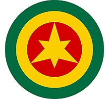 Roundel of the Imperial Ethiopian Air Force  Photographic Print