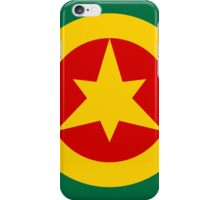 Roundel of the Imperial Ethiopian Air Force  iPhone Case/Skin