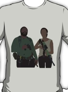 Sasha and Tyreese - The Walking Dead T-Shirt