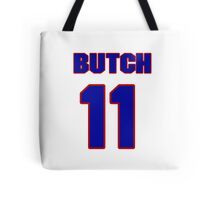 National football player Butch Songin jersey 11 Tote Bag