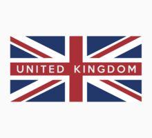 flag of United Kingdom Baby Tee