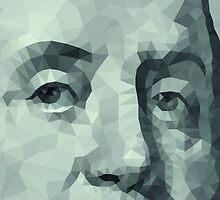 Benjamin Franklin closeup by tony4urban