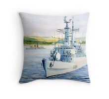 Warship series#2 Throw Pillow