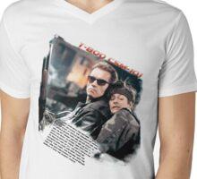 TERMINATRO 2 (T-800) Mens V-Neck T-Shirt