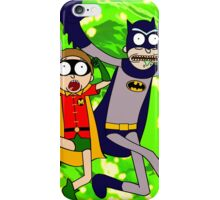 Rick and Morty Batman Reality iPhone Case/Skin