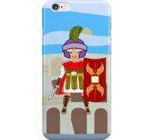 Roman Toon Boy 9 - no gladiator rebellion tonight iPhone Case/Skin