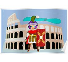 Roman Toon Boy 9 - no gladiator rebellion tonight Poster
