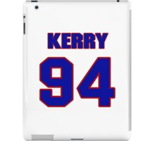 National football player Kerry Hicks jersey 94 iPad Case/Skin