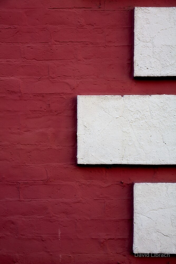 Red and White by David Librach - DL Photography -