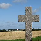Norfolk Church Cross by Mike Paget
