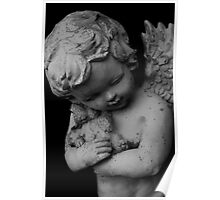 Cemetery Statue: Child Angel Poster