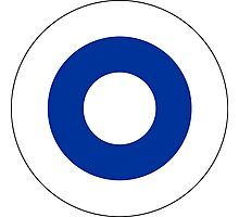 Roundel of the Finnish Air Force  Photographic Print