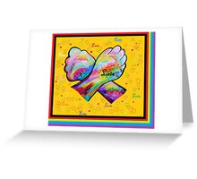 American Sign Language LOVE Greeting Card