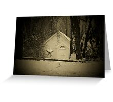 A cozy place Greeting Card