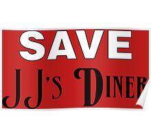 Save JJ's Diner Poster