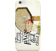 Philippians 3 Prize iPhone Case/Skin
