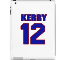 National football player Kerry Collins jersey 12 iPad Case/Skin