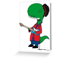 RÖH - Jimi Hendrix Greeting Card