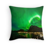 Celestial Crown Throw Pillow