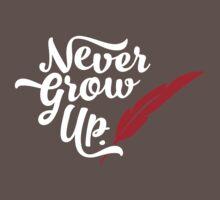 Peter Pan - Never Grow Up. One Piece - Short Sleeve