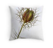 Love in the Mist Throw Pillow