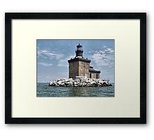 Toledo Lighthouse Framed Print