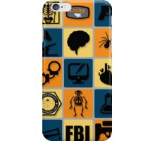 BONES TV Flat Icon Collage iPhone Case/Skin