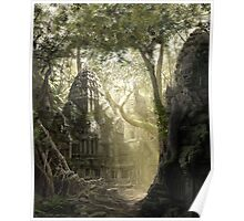 Lost Temple - Matte paintings Poster