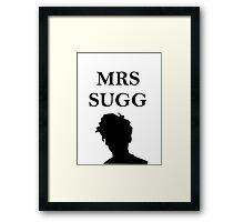 Mrs Sugg Framed Print