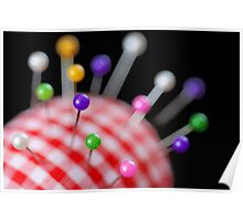 Pin Cushion Poster